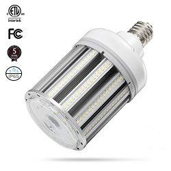 80W LED Corn Light Bulb Large Mogul E39 Base,5000K Daylight AC100-277V,250W HID HPS Metal Halide ...