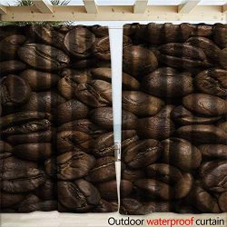 warmfamily Coffee Drape for Pergola Flavored Roasted Arabica Beans Ready for Brew Fresh Drink of ...