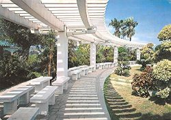 Pergola in the Memorial Park China, People's Republic of China Postcard