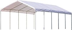 ShelterLogic SuperMax Heavy Duty Steel Frame Quick and Easy Set-Up Canopy 18′ x 40′
