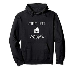 Fire Pit Hoodie Lake Life Campfire Bonfire Camping Gift