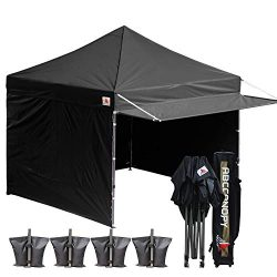 ABCCANOPY (20+Colors 10×10 Easy Pop up Canopy Tent Instant Shelter Commercial Portable Mark ...