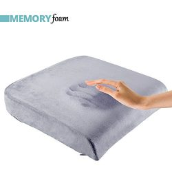ComfySure Extra Large Seat Cushion Pad for Bariatric Overweight Users – Medium-Firm Memory ...