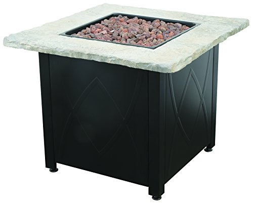Endless Summer Gad1445dh Lp Gas Outdoor Fire Table Brown