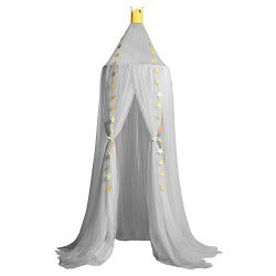 Didihou Mosquito Net Bed Canopy Yarn Play Tent Bedding for Kids Playing Reading with Children Ro ...