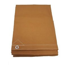 12′ x 20′ Tan Canvas Tarp 12oz Heavy Duty Water Resistant
