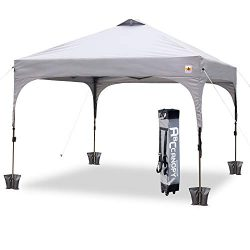 ABCCANOPY Canopy Tent 10 x 10 Pop-Up Commercial Canopy Instant Shelter Tents Popup Outdoor Porta ...