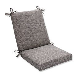 Pillow Perfect Outdoor/Indoor Remi Patina Squared Corners Chair Cushion