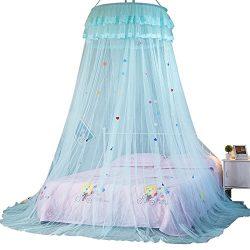 Samber Dome Ceiling Suspended Bed Canopy Princess Queen Mosquito Net Bed Tent Single Door Floor- ...
