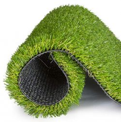 SavvyGrow Artificial Grass for Dogs AstroTurf-Rug – Premium 4 Tone Synthetic Astro Turf, E ...