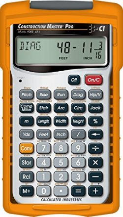 Calculated Industries 4065 Construction Master Pro Advanced Construction Math Feet-inch-Fraction ...