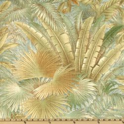 Outdoor Fabric Sun N Shade Outdoor Cushions Patio Pillows Upholstery 5 Yd Tropical Leaf Tommy Bahama