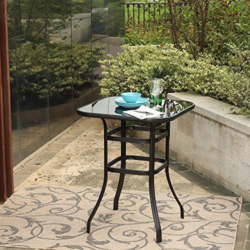 Phi Villa Patio Bar Table Outdoor Furniture Steel Frame