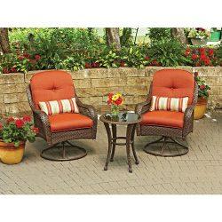 3-Piece Outdoor Furniture Set, Better Homes and Gardens Azalea Ridge 3-Piece Outdoor Bistro Set, ...