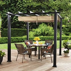 Better Homes and Gardens Meritmoor Aluminum and Steel Pergola