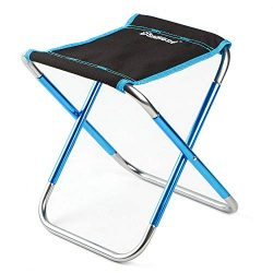 Axiba Mini Portable Folding Stool Ultralight Camping Folding Chair Outdoor Fold Chair for Campin ...