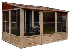 Gazebo Penguin W1610 1/2 Add-a-Room All-Season Solarium, 10-feet by 16-Feet