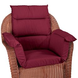 Pressure Reducing Chair Cushion, Burgundy – Wheelchair, armchair, patio chair cushion – Generous ...