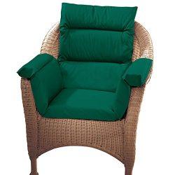 Pressure Reducing Chair Cushion, Hunter Green – Wheelchair, armchair, patio chair cushion – Gene ...