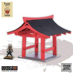 Plast Craft Games Kensei Colored Miniature Gaming Model Kit 28 mm Pergola