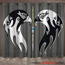 BlountDecor Patio Gazebo Pergola Cabana Tattoo of an Eagle Men s Tattoo Women s Tattoo Waterproo ...