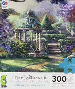 Thomas Kinkade Gazebo of Prayer Jigsaw Puzzle