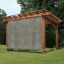 Easy2Hang EZ2hang Alternative Solution Roller Shade – Sun Shade Privacy Panel 3 Sides Read ...