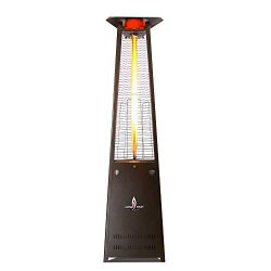 Lava Heat Italia – AMAZON-132 – Lava Lite Patio Heater – Heritage Bronze Finis ...