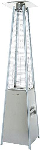 AmazonBasics Pyramid Patio Heater, Stainless Steel