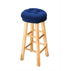 Olywell 12″ Round Thick Bar Stool Cushion, Make Your Stool Chairs Comfortable,With Ties to ...