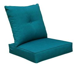 Bossima Cushions Patio Furniture, Outdoor Water Repellent Fabric, Deep Seat Pillow High Back Des ...