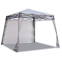 EzyFast Elegant Pop Up Beach Shelter, Compact Instant Canopy Tent, Portable Sports Cabana, 7 x 7 ...