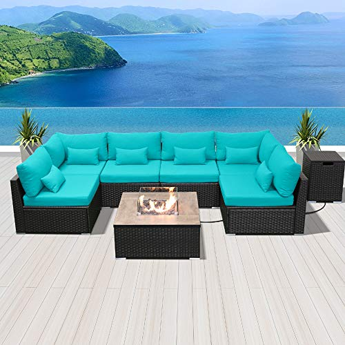 Modenzi Outdoor Sectional Patio Furniture With Propane
