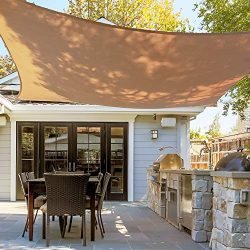 Asani Rectangle Sun Shade Sail | UV Blocking Patio Cover, Outdoor Sunshade Canopy | Weather-Resi ...