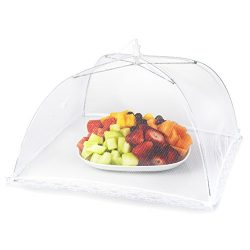 Mesh Picnic Food Tent Covers 6 pack: Collapsible Umbrella Tents for Picnics, BBQ, Camping &  ...