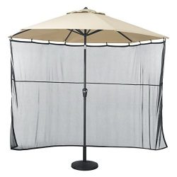 Classic Accessories Universal Patio Umbrella Shade Screen Attachment
