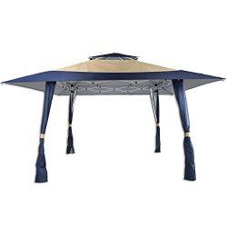 AOODA Gazebos 13′ x 13′ Pop Up Canopy Wedding Outdoor Gazebos Yard Patio Tent Heavy  ...