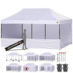 ABCCANOPY 23+Colors 10 X 20 Commercial Easy Pop up Canopy Tent Instant Gazebos with 9 Removable  ...