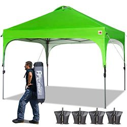 ABCCANOPY 10 x 10 Pop-Up Canopy Tent Beach Canopy Instant Shelter Tents Canopy Popup Outdoor Por ...