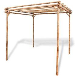 vidaXL Pergola Bamboo 76.8″ Garden Patio Veranda Arbor Vine Plant Support Arch