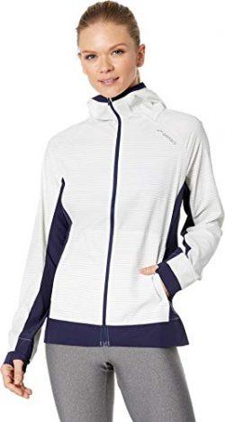 Brooks Women's Canopy Jacket White Haze/Navy Small