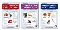Conversation Cards – Three-Deck Set – Reminiscence Activity for Alzheimer's / Dementia / M ...