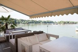 ADVANING 12'X10′ Motorized Patio Retractable Awning | Classic Series | Premium Quali ...