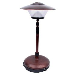 Dorcy 41-1090 Weather Resistant Adjustable Patio and Deck LED Lamp Light, 220-Lumens, Bronze Finish