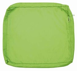 QQbed Outdoor Patio Chair Washable Cushion Pillow Seat Covers Extra Large 24″X22″X4& ...