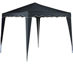 cucunu Canopy Instant Gazebo Pop Up Tent 10 x 10 Shelter with Metal Frame for Outdoor Patio Gard ...