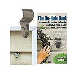 No-Hole Hooks Vinyl Siding Hangers – Low Profile- 4PK
