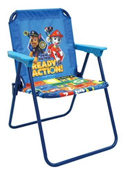 Paw Patrol – Blue Patio Chair for Kids, Portable Folding Lawn Chair