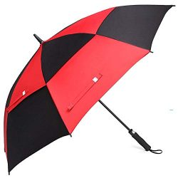 Double Layer Inverted Umbrellas Reverse Folding Umbrella Windproof UV Protection Big Straight Um ...