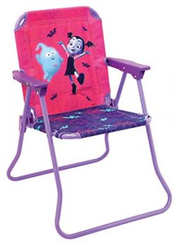Patio Chair Vampirina for Kids, Portable Folding Lawn Chair